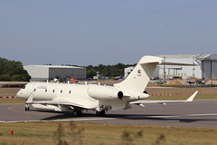 """""""Dolphin Two"""" UAE GLEX 1325 (Modified Bombardier BD700 Global 6000) (robertetienne) Tags: bombardier bd700 global6000 glex cambridgeairport marshallaerospaceanddefence uaeairforce 1325 dolphintwo projectdolphin modifiedaircraft secretaircraft surveillanceaircraft spyplanes aircraft airplanes jets military aviation"""