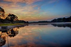 Reflections Before Sunrise (kendoman26) Tags: hdr nikhdrefexpro2 nikon nikond7100 tokinaatx1228prodx tokina tokina1228 river illinoisriver reflections travelillinois enjoyillinois