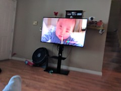 Living Room (earthdog) Tags: 2018 house home livingroom tv monitor screen googlepixel pixel androidapp moblog cameraphone