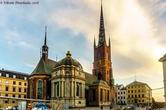 Riddarholm Church, Stockholm, Sweden (vdwarkadas) Tags: riddarholmen riddarholmchurch church royalty swedishmonarchs stockholm sweden spire sony sonya6000 sonyilce6000