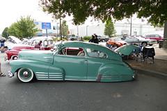 1948 Chevrolet (bballchico) Tags: 1948 chevrolet aerosedan fleetline lowrider papajoerobertatrujillo patronsccseattle greaserballcarbikeshow seattlegeorgetown carshow