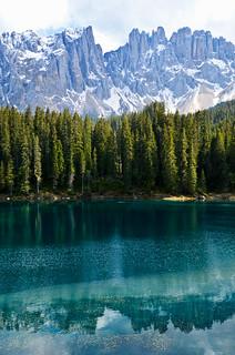 Again Karersee Lake - Vertical