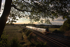 8.23pm (Garter Blue) Tags: voyager cherwell valley sunset rail railway