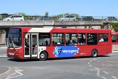 WOB 68 @ Warrington bus station (ianjpoole) Tags: warringtons own buses volvo b6ble wright merit dk07fwj 68 working route 22 warrington bus station liverpool row vulcan village