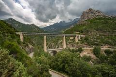 Ponts / Bridges (dbrothier) Tags: vivario corse france fr canonef1740mmf4lusm eos6d canon6d corsica kalliste bridge pont lr flickrcorsicaflickrcorse eiffel vecchio baggioni rn193 railway route road 7dwf nwn