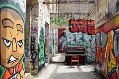 . (just.Luc) Tags: graffiti grafitti streetart urbanart derelict piano darwin bordeaux gironde nouvelleaquitaine france frankrijk frankreich francia frança europa europe