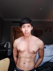 Nino Waworuntu Soedjak (ninowsoedjak) Tags: abs asian boxing fitness fitnessmodel indonesian jakarta muscle musclegrowth nino pecs sixpack twink gutpunch waworuntu gutpunching soedjak underwater