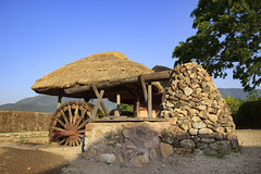 Watermill (Synghan) Tags: watermill mill spinningwheel nagan folk village tradition traditional oldstyle jeollanamdo jeollado jeolla travel tourism trip journey day morning bright stone equipment instrument photography horizontal outdoor colourimage fragility freshness nopeople foregroundfocus adjustment interesting awe wonder asia korea korean countryside country regional region local canon eos80d 80d sigma 1770mm f284 dc macro lens 물레방아 방아 장비