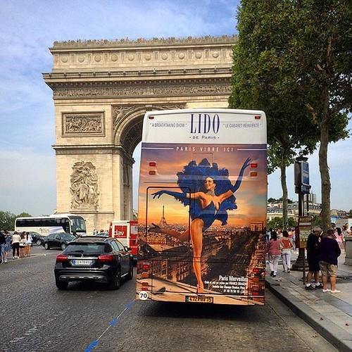 #paris #lido #arcdetriomphe