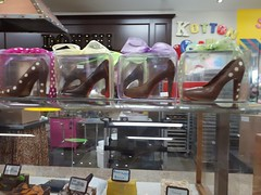 Chocolate Shoes (Suzanne Guest) Tags: thebigapple chocolate shoes colborne ontario canada store attraction