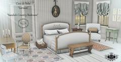 {CdB} Larsson Bedroom (Bebe Begonia) Tags: life second furniture bedroom country swedish