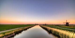 A Dutch dusk setting in.
