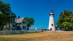 JRP_1351-Pano (jphenney) Tags: lakeerie lighthouse marblehead marbleheadlighthouse water
