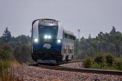 Feel the Heat (lennycarl08) Tags: amtrakcalifornia amtraksanjoaquin riverbankcalifornia centralvalley trains railroad passengertrain amtrak