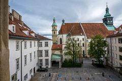 Domkirche zum Heiligen Ägydius in Graz, Austria (mklinchin) Tags: graz steiermark austria at login logout church catholic
