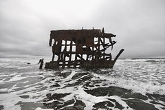 Peter Iredale (SkylerBrown) Tags: abandoned beach ocean oregon overcast pacificnorthwest peteriredale pnw shipwreck