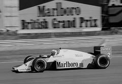 Alain Prost, Marlboro MP4-2B TAG Turbo, Silverstone 1985 (rac819) Tags: silverstone1985 grandprix britishgrandprix1985 alainprost prost marlboro mclarenhondamp4 mclaren f1 formula1