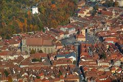 Brasov from Above (hapulcu) Tags: brasov brasso herbst kronstadt romania romanya rumanien siebenbürgen transylvania automne autumn autunno castle otoño toamna