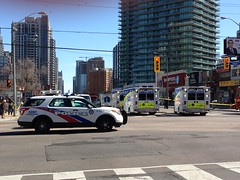 Toronto and York Region police EMS and fire response (Canadian Pacific) Tags: north toronto terror attack yonge street finch avenue van pedestrians hit hits fire ems police car yorkregion ontario canadian 20180423 img1715 5650 5576