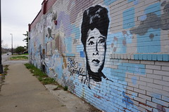 Jazz Artists Street Art - Brooklyn Avenue - Travel to Kansas City, MO, April 2018 (JenniferHuber) Tags: travel kansascity