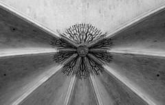 Rome. (Canad Adry) Tags: château de vincennes carl zeiss contax planar 50mm f14 line curve noir et blanc black white bw convergence arc building pierre sony alpha a6000 vintage old classic manual lens symetry t