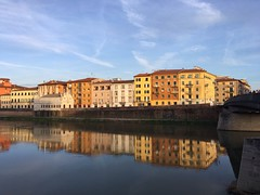 River Arno (brimidooley) Tags: pisa tuscany toscana italy italia europe europa citybreak travel sightseeing city italien