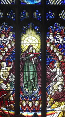 DSCF8336 (ndm81) Tags: stainedglass reglion faith colurs art church god maryandjesus