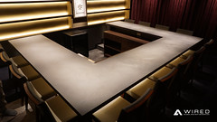 mortex3 (WIRED Co., Ltd.) Tags: wired walldesigncompany mortex bar kitchen lounge ワイヤード モールテックス 特殊塗り キッチン カウンター 店舗 interior shop design vip