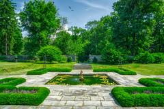 Formal Garden (JMS2) Tags: bartowpell bronx park garden landscape scenic lilypond design preservation history usa plants gardening