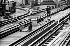 CTA Loop Junction 8-86 (jsmatlak) Tags: chicago cta l elevated subway metro train electric railway junction