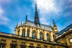 A beautiful church in Paris.