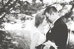 Bride and Groom 1 (Nick - n2photography) Tags: bride groom wedding nebraska summer warm love canon sigma50mm14art canon5dsr bokeh dress trees light sunny
