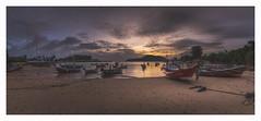 Slack tide (Khun Jeremy) Tags: green thailand kohtapaoyai phuket longtail sony sunrise dawn