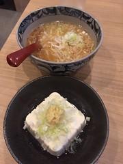 pork loin cutlet fried rice with ramen at Yoshikyu, mitaka (nakashi) Tags: ramen friedrice cutlet mitaka tokyo japan