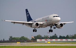 Airbus A319-112  OK-PET — ČSA Czech Airlines SkyTeam Livery