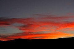 Last Colorful Light of Day (craigsanders429) Tags: sunsetphotography sunsets sunset sunsetcolors cloudsandsky clouds cloudsandmountains sunandclouds arizona arizonamountains sedonaarizona mountains