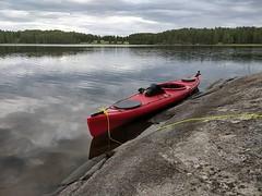 Näsijärven tuulia paossa Längelmävedellä #kayak #länkipohja #längelmävesi