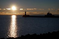 Duluth Ship Canal (TCeMedia/Telecide) Tags: duluth minnesota lake superior sunrise sea landscape
