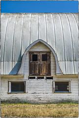 Barn Door + Two Windows (NoJuan) Tags: fotodioxadapter fotodiox lensadapter canonfd canonfdlensonsonya7 sonya7ii mirrorless manualfocuslens sonya7withmanualfocuslens barn barndoor door doorandwindows
