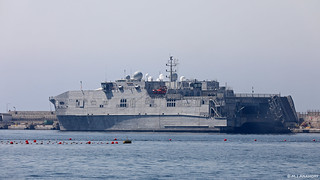 USNS Yuma (T-EPF-8) Spearhead-class Expeditionary Fast Transport at HM Naval Base, Gibraltar