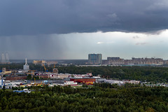 *** (donnicky) Tags: saintpetersburg architecture badweather building city cityscape clouds cloudy forest nopeople outdoor publicsec raining sky skyline stormy жккнязьалександрневский