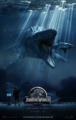 Jurassic World (Static Phil) Tags: movieposter colintrevorrow 2015 chrispratt brycedallashoward omarsy vincentdonofrio irrfankhan