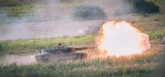 """Leopard"" 2A4 (Bundesheer.Fotos) Tags: bundesheer austrian army soldiers militärakademie luftstreitkräfte"