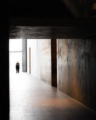 Gallery Guard (O'Quinn Photo) Tags: nationalgallery ottawa canada guard artgallery hall oquinn ontario architecture shadows silhouette