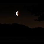 Hünxe - 27.7.2018 Lunar eclipse with Mars thumbnail
