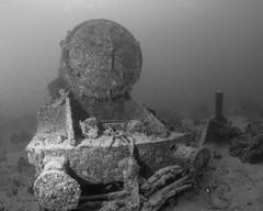 Locomotive blown off Thistlegorm (Jeremy Smith Photography) Tags: thistlegorm locomotive underwaterphotography underwaterwideanglephotography jeremysmithphotographycouk jeremysmith redsea scubadiving