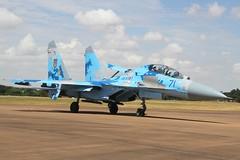 (scobie56) Tags: ukrainian air force su27 flanker riat fairford 2018