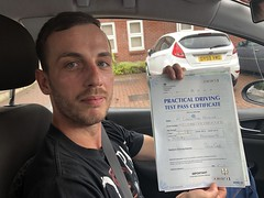 Massive congratulations to Catalin Si Mirela passing driving test on his first attempt with only 4 minor faults!   www.leosdrivingschool.com