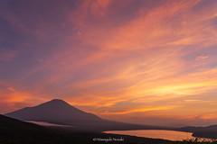 富士山 Mt.Fuji (Masayuki Nozaki) Tags: fuji fujiyama fujisan landscape mountain sky clouds lake japan sunset canon eos 6d sigma 富士山 山中湖