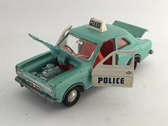 Dinky Toys - Meccano Ltd - Number 270 - Ford Escort Panda Police Car - Miniature Diecast Metal Scale Model Emergency Services Vehicle (firehouse.ie) Tags: dinkytoys polizei polizia policja politi polis policia miniatures miniature models model metal car panda escort ford police dinky